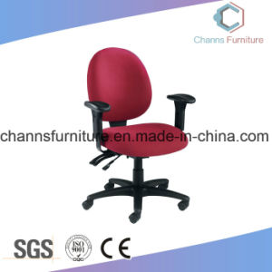 Modern Chrome Metal Base Popular Staff Fabric Chair Office Furniture pictures & photos