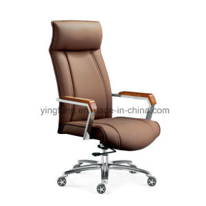 High Back Leather Swivel Task Office Chair for Furniture pictures & photos