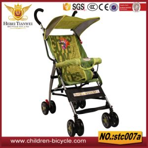 Selling Green Baby Stroller with Handlebar for Wholesale 2017 Summer pictures & photos