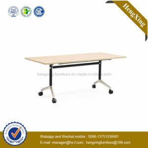 Excellent Quality Modern Double School Desk and Bench Cheap School Furniture Sale (HX-5D142) pictures & photos