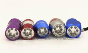 Promotional Aluminium LED Torch Keychain Wholesale, LED Light Keychain pictures & photos