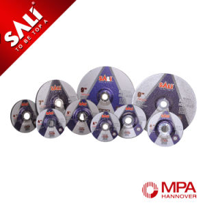 Sali Brand Metal Abrasive Center Depressed Grinding Wheel With MPA pictures & photos