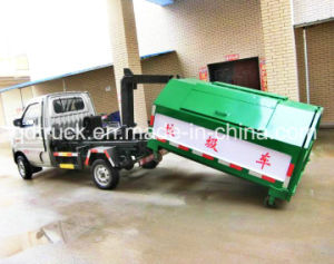 3CBM Hook Arm Type Garbage Truck, Garbage Transfer Truck pictures & photos