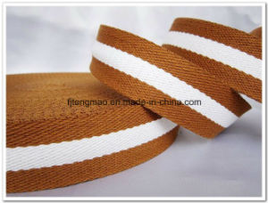 20mm Brown White Cotton Belt pictures & photos