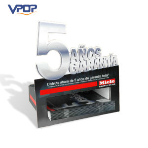 Storgae Magazine Display Cardboard Counter Top Display Stand