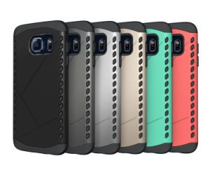 Hard Soft Heavy Duty Dual Layer Hybrid Armor Case for Samsung S7 S7 Edge Phone Cover pictures & photos