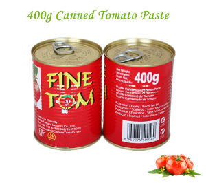 70g 210g 400g 800g 2200g Fine Tom Brand Canned Tomato Paste for Burkina Faso pictures & photos