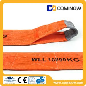 10t Heavy Duty Polyester Flat Webbing Sling / Web Sling / Lifting Sling pictures & photos