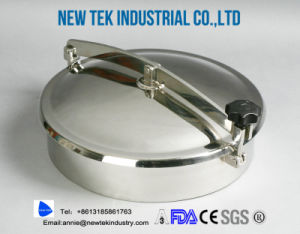 Santiary Stainless Steel Circular Manway Cover pictures & photos