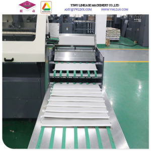 Ld-Gnb760two Lines Tape Glued Notebook Making Machine with Two Sets of Gluing Lines pictures & photos