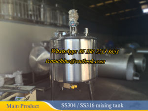 Stainless Steel Tank for Reaction and Mixing pictures & photos