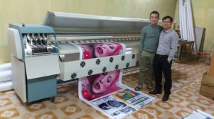 Infinity 3208r Large Format Digital Printer 3.2m Heavy Duty Solvent Inkjet Printer for Tarpaulin pictures & photos