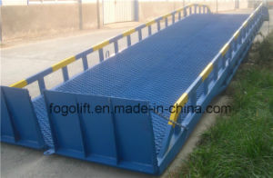 Manual or Elctric Container Loading Ramp pictures & photos