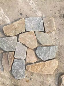 Cutural Stone Slate Crazy Shape Beige Antique pictures & photos