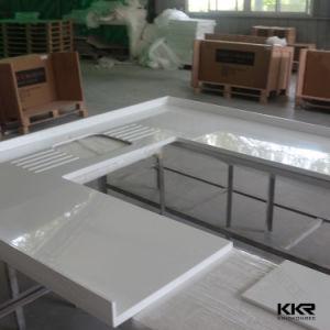 Prefab Artificial Mable Quartz Stone Kitchen Countertop pictures & photos