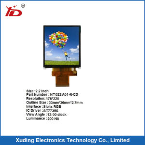 "2.2""LCD Display TFT Module, 176*220 Serial Spi, Optional Touch pictures & photos"