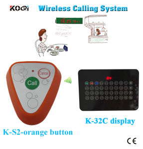 Ce Approved 433.92MHz Ycall Brand for Restaurant Wireless Service Bell System pictures & photos