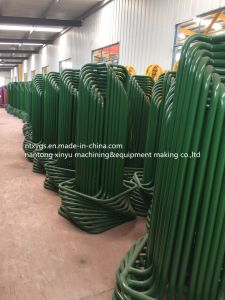 Factory Outlet Bright Round Base Steel Wire Carrier pictures & photos