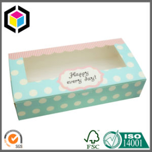 Open Window Cardboard Paper Packaging Biscuit/Cupcake/Chocolate Box pictures & photos