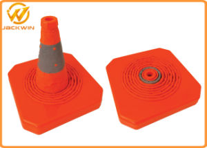 28 Inch Portable Collapsible Safety Cone with LED Lights pictures & photos
