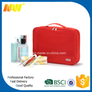New Product Barrel Shaped Travel Contents Cosmetic Bag Large Capacity Wash Bags pictures & photos
