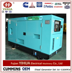 Foton Isuzu Diesel Generator Set Canopy Type 15kw to 30kw pictures & photos