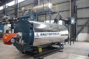 Three Coil Pipe Gas/Oil Fired Thermal Oil Boiler pictures & photos
