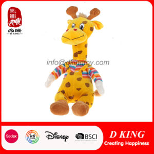11′′ Lovely Dressed Plush Cartoon Animal Stuffed Toy Giraffe pictures & photos