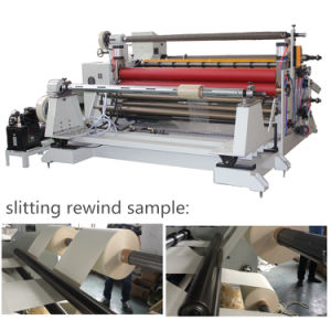 Adhesive Tape/Pet/PVC Automatic Slitting Rewinding Machine pictures & photos