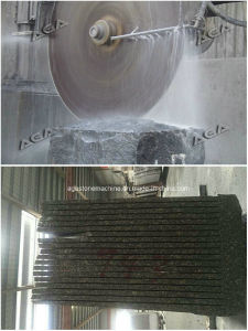 Granite Block Cutter Machine Diamond Saw Making Slab Dq2800 pictures & photos