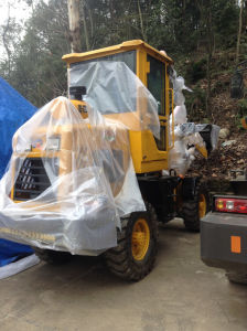 Pully Manufacture 1.8 Ton Loading Capacity Mini Backhoe Wheel Loader (PL916) pictures & photos