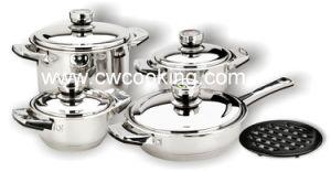 9PCS Wide Edge Cookware Set pictures & photos