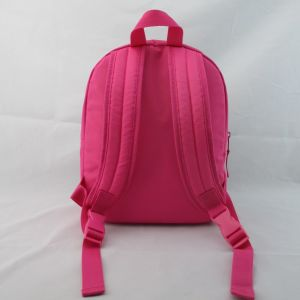 Girls Pink Robot Novelty Polyester Backpack pictures & photos
