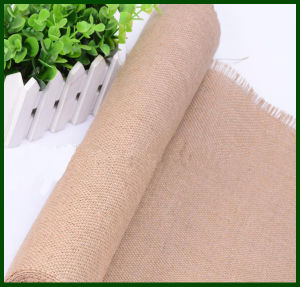 100% Jute Fiber Jute Fabric Roll (60*60) pictures & photos