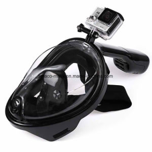 Snorkel Mask Full Face Dry Snorkeling Mask Ce RoHS FDA pictures & photos