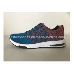 Canvas Shoes Casual Shoes Flyknit Shoes Sports Shoes Men Shoes pictures & photos