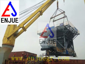 Dock Use Mobile Hopper with Exhaust Dust Device for Truck Loading Hopper pictures & photos