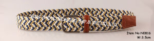 2016 New Fashion Braided Belt for Men pictures & photos