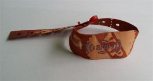 Woven Wristbands with PVC Slider for Gift or Party pictures & photos