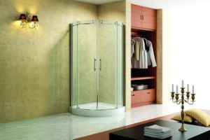 Quadrant Shower Room with 2 Sliding Door pictures & photos