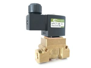 Vpc Series Brass Pilot Diaphragm Solenoid Valve for European Market pictures & photos