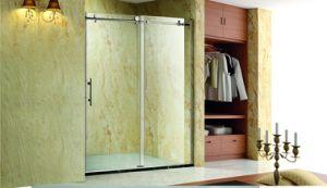 Bathroom Sanitary Ware Sliding Shower Door/Glass Screen Door (K03) pictures & photos