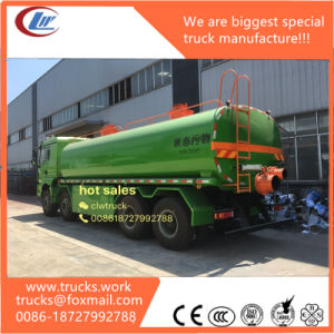 Sanchman 6wd Professional Sanitation Trucks Loading 25000liters Tank pictures & photos