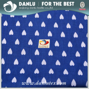 100% Cotton Poplin Fabric with Love Pattern Printed for Bag pictures & photos