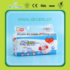 Cheapest Boy Design Baby Diapers with Cloth Like Film pictures & photos