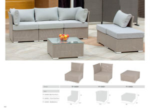 Patio UV Proof PE Rattan Setional Sofa