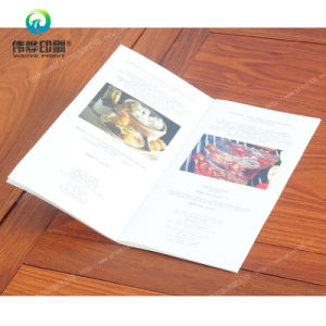Hotel Dining Paper Printing Menu Brochure / Catalogue pictures & photos