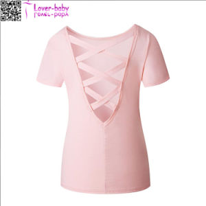 Short Sleeve Ladies Casual Tops L580 pictures & photos