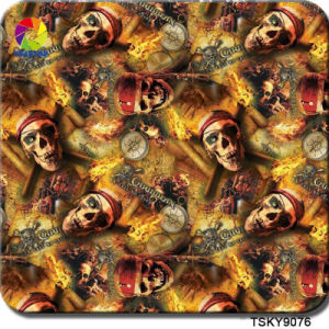 Tsautop 0.5m Width Newest Skull Water Transfer Printing Film Hydro Dipping Film PVA pictures & photos