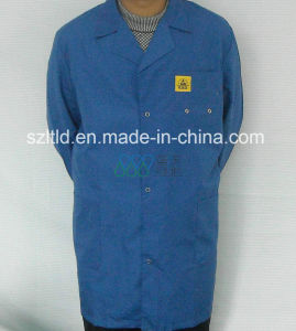 5mm Grid ESD Cotton Smock pictures & photos